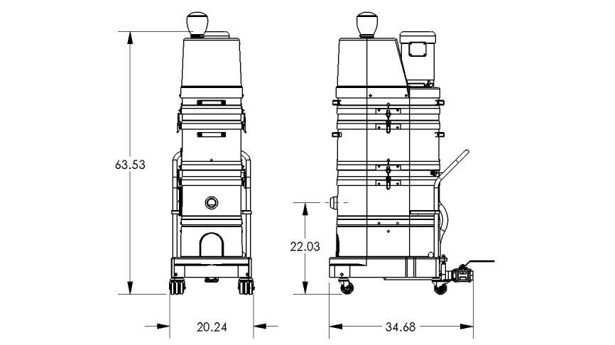 NA35-3HP Vacuum