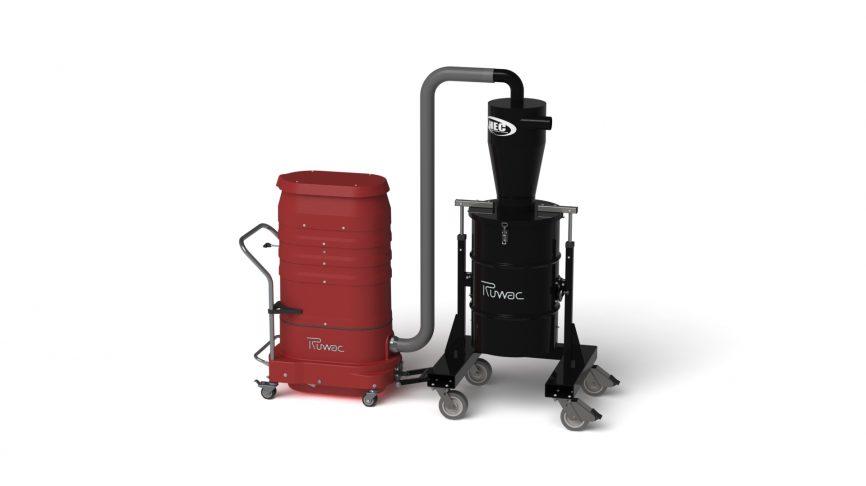 HEC-XLT Pre-Separator with WS2320 Portable Vacuum