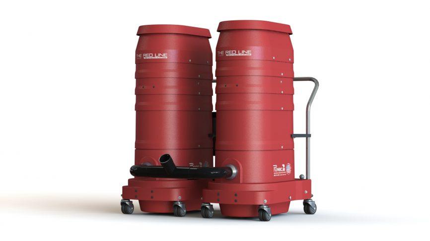 DuoVac 220-S Portable Industrial Vacuum