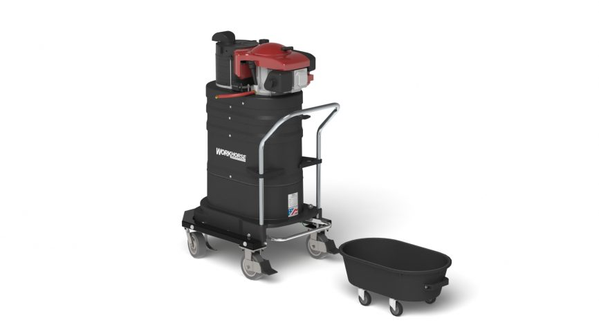 GV10 Gas Powered Portable Industrial Vacuum