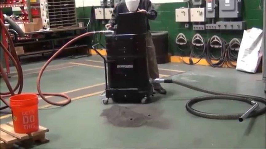 Steel Shot Dust Vacuum Cleaners Ruwac Usa