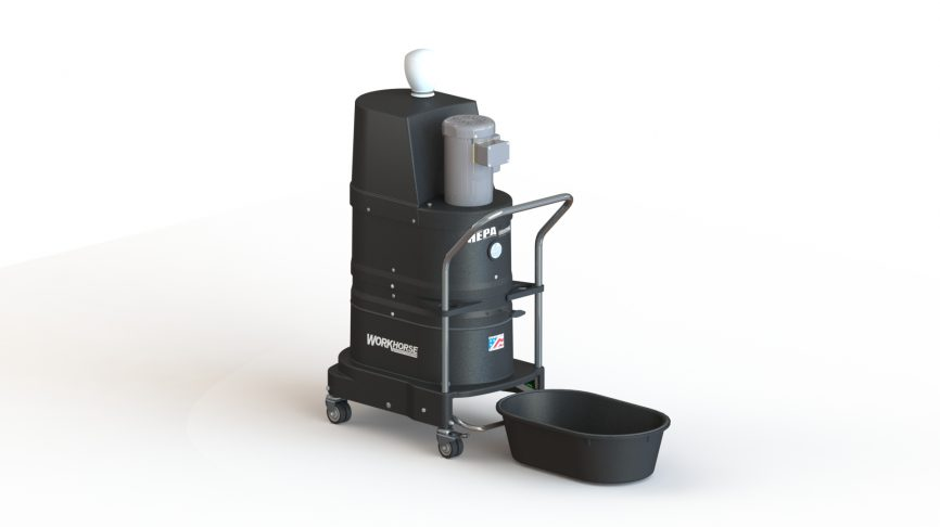 DS1000 HEPA Maxx Portable Industrial Vacuum