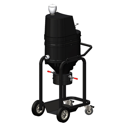 AV2000 Air-Powered Direct Bagger Vacuum