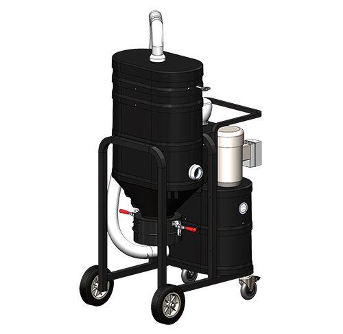 DS1400 Direct Bagger Industrial Vacuum