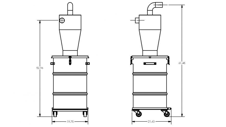 HEC-S Pre-Separation System