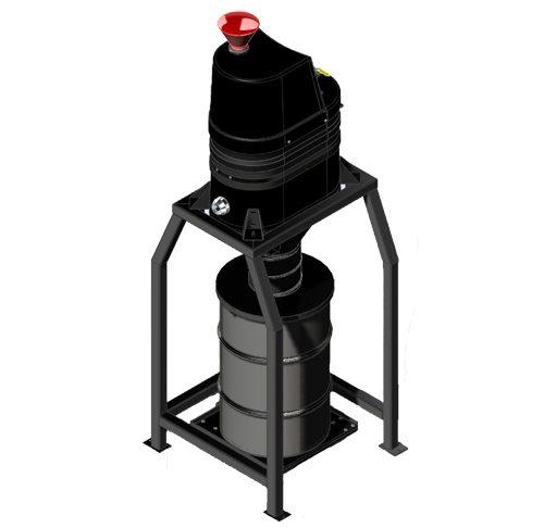 SV-A1 Silo Mini Central Vacuum