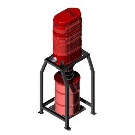 SV-R3 Silo Mini Central Vacuum