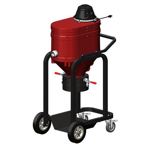 WNS1000 Direct Bagger Industrial Vacuum