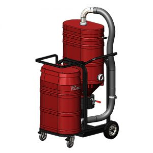 WS2320 Direct Bagger Industrial Vacuum