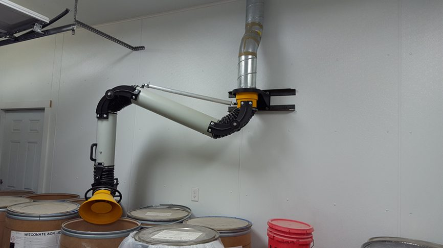 Dust Extraction Swing Arm
