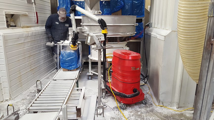 Dust Extraction Swing Arm Ruwac Usa