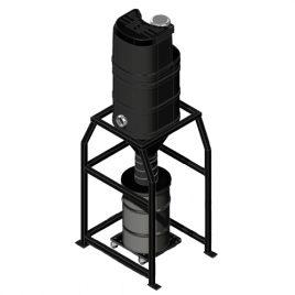 SV-P Silo Series Mini Central Vacuum