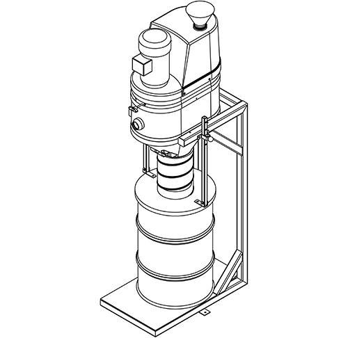 Hair Clipper Vacuum System