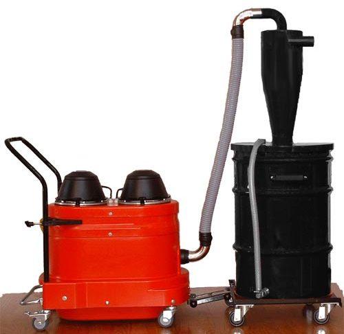WNS2220 Portable Industrial Vacuum w/ HEC Pre-Separator