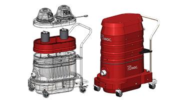 HEPA 2.0 Portable Industrial Vacuums