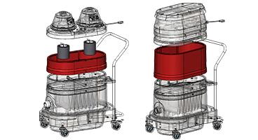 Lovely HEPA Portable Industrial Vacuums