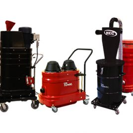 Portable Industrial Vacuum Cleaners