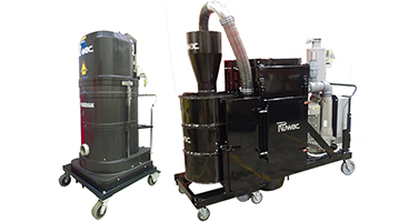 Three Phase Portable Industrial Vacuums