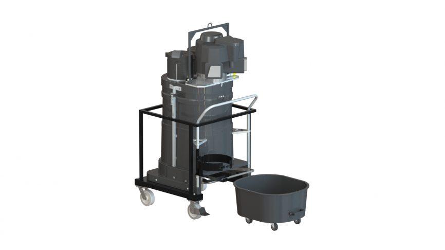 PV15 Propane-Powered Portable Industrial Vacuum