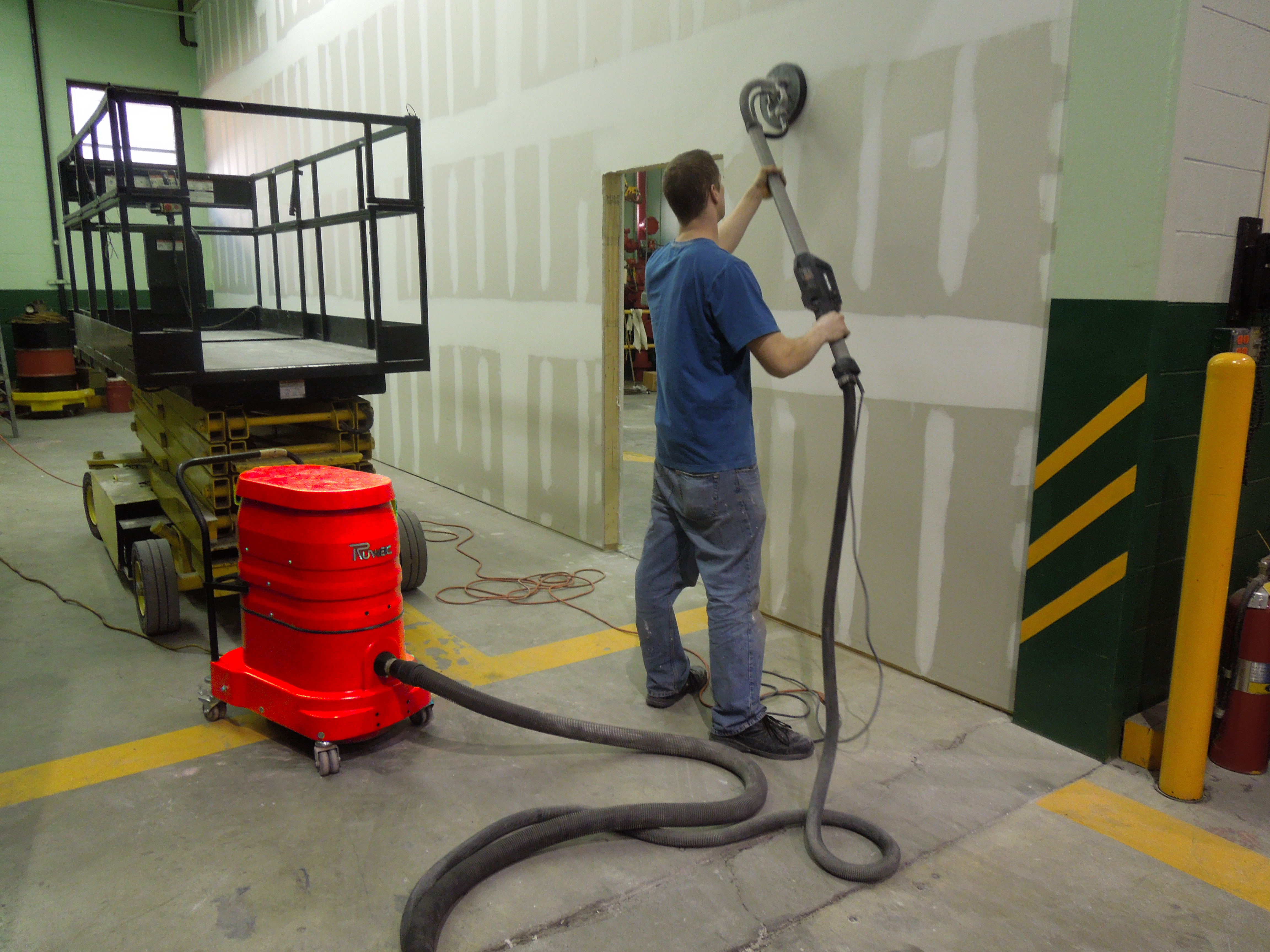 Which Vacuum Should I Use For Drywall Sanding Ruwac Usa