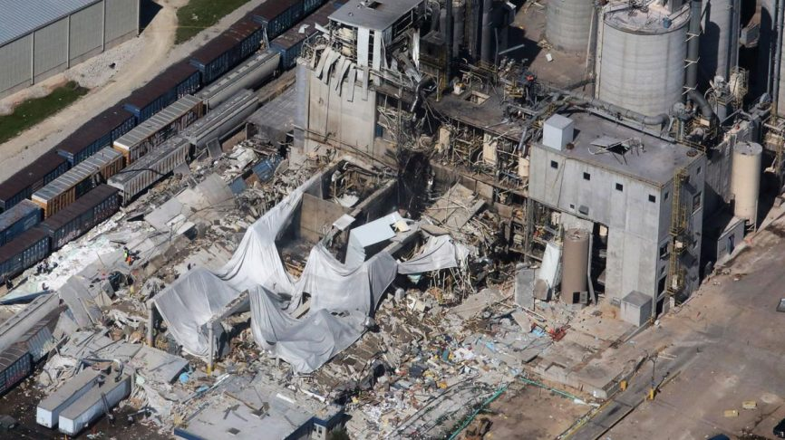 Cambria Corn Dust Explosion Emphasizes Need For Explosion
