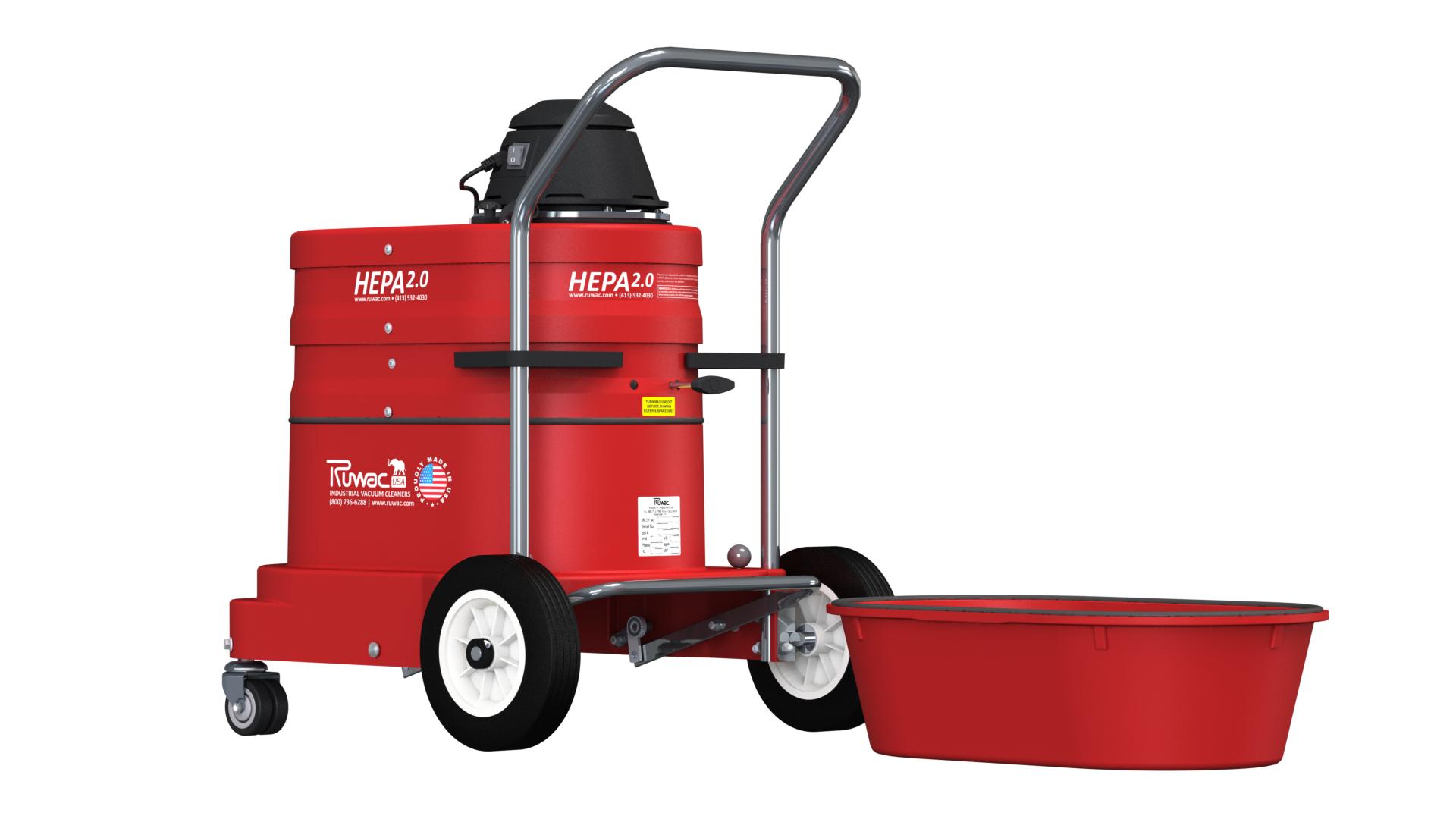 Range Vac 101 Lead Dust Removal System Ruwac Usa