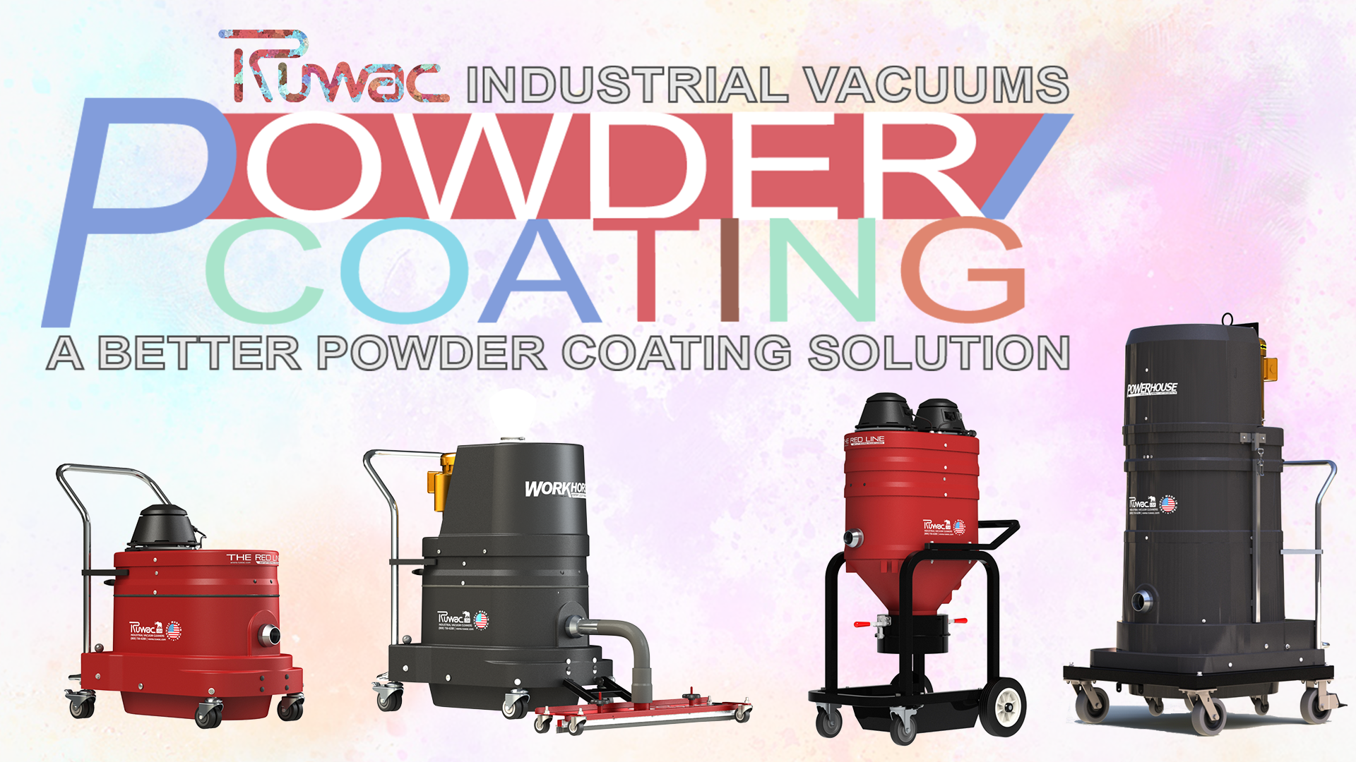 Powder Coating Vacuums Industrial Vacuums Ruwac Usa